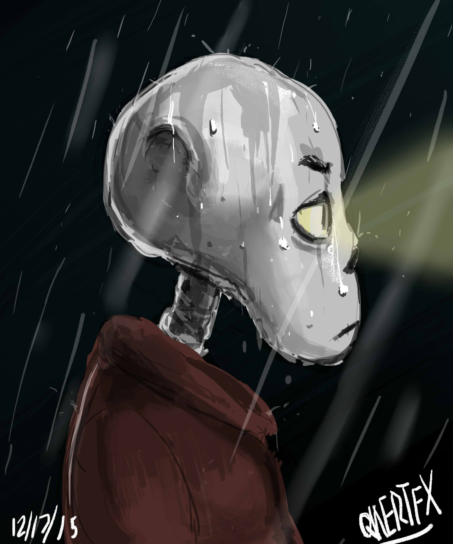 Im In the rain
