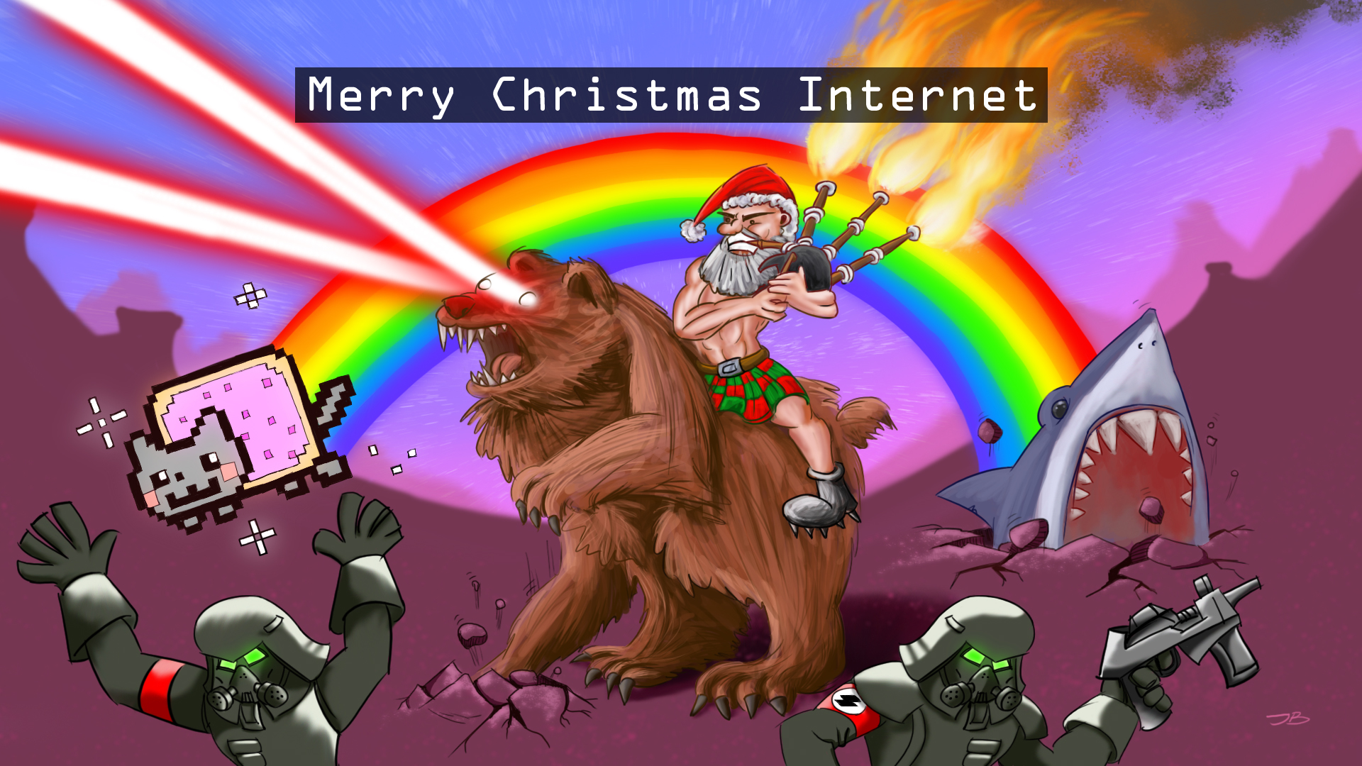 Merry Christmas Internet