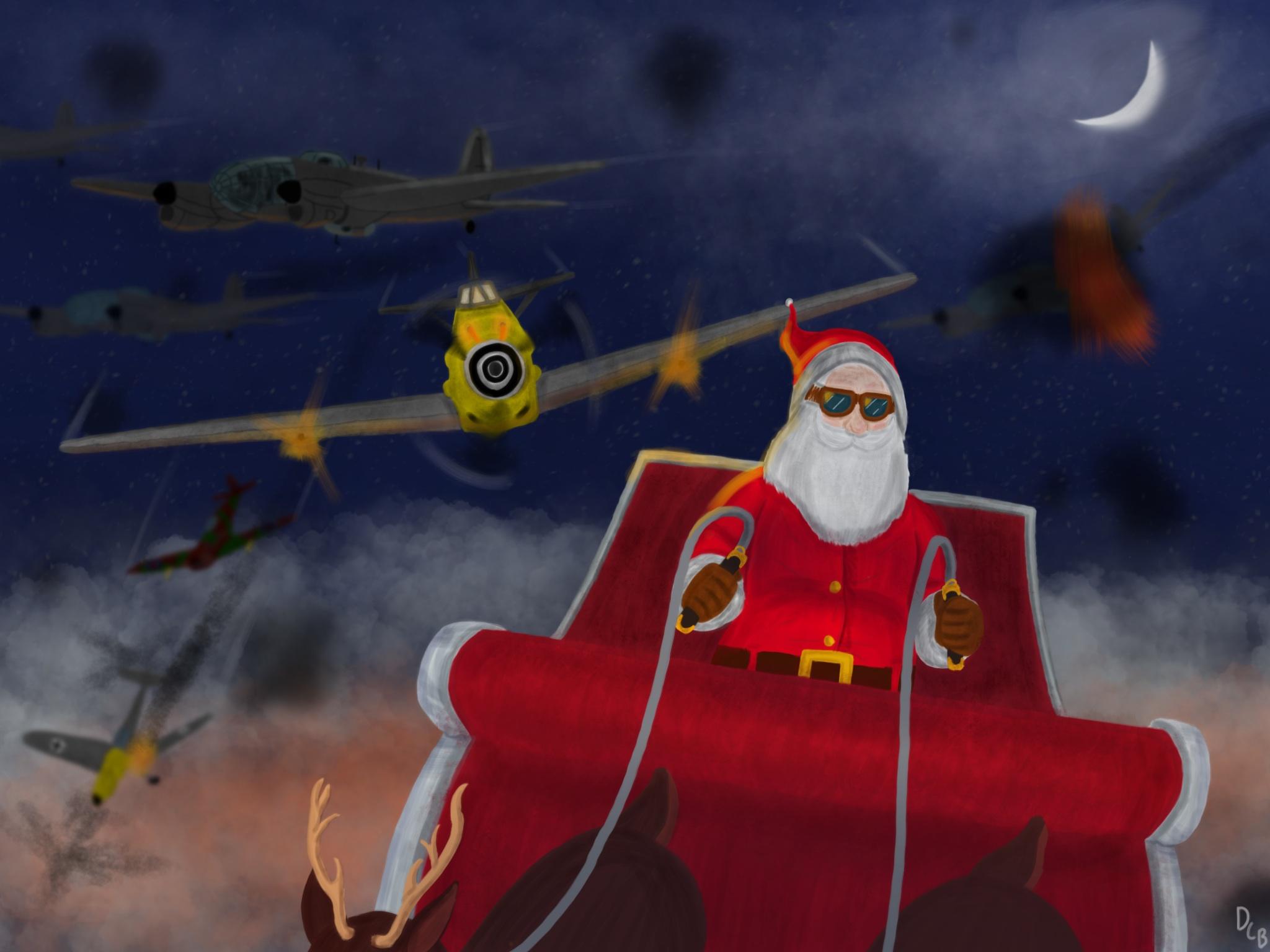 Christmas over Liverpool, 1940