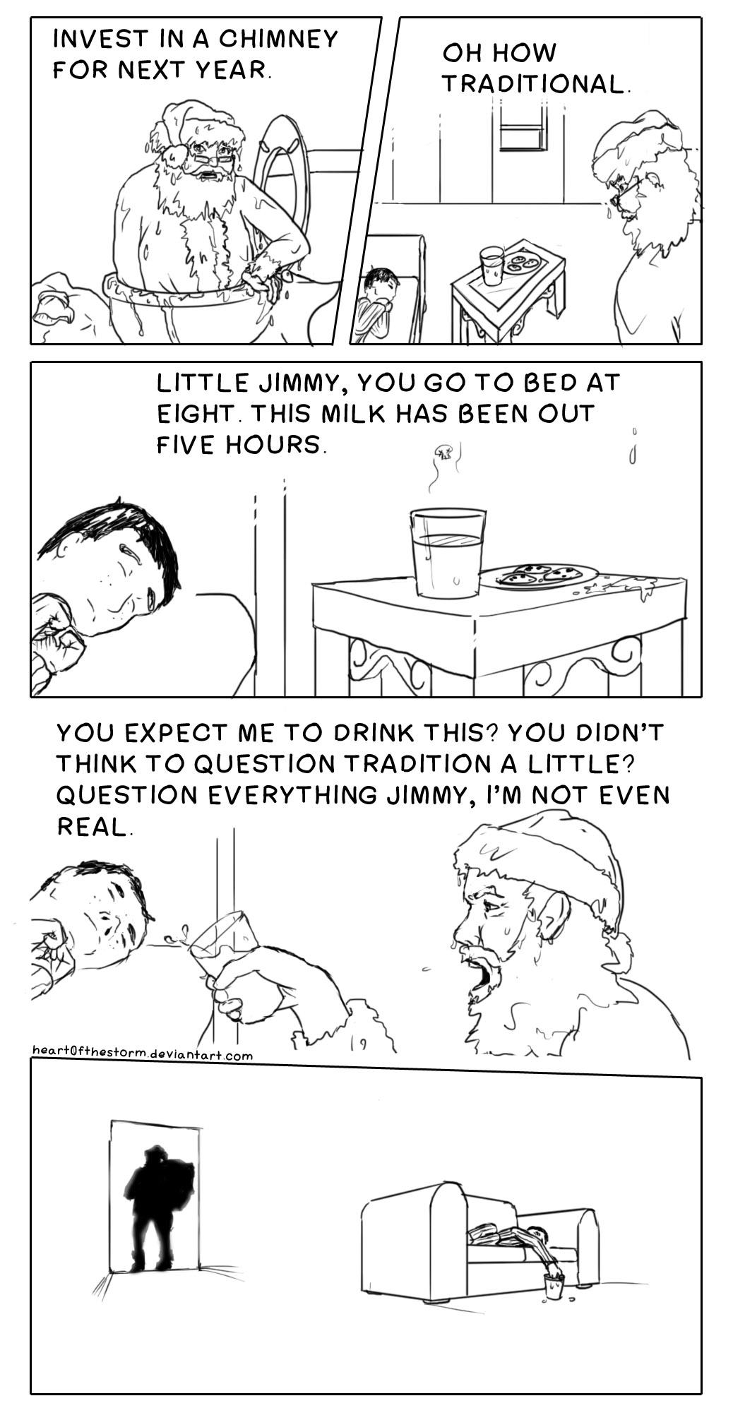 Sarcastic Santa