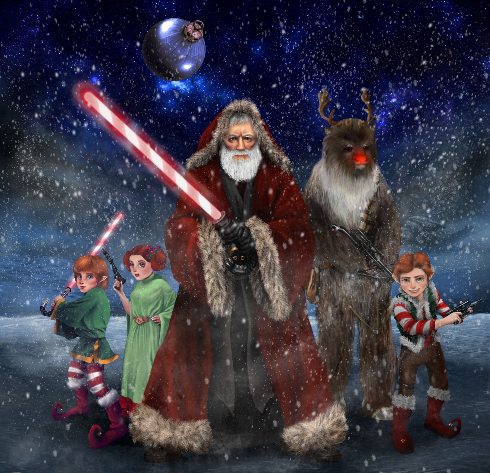 Obi Wan Santa