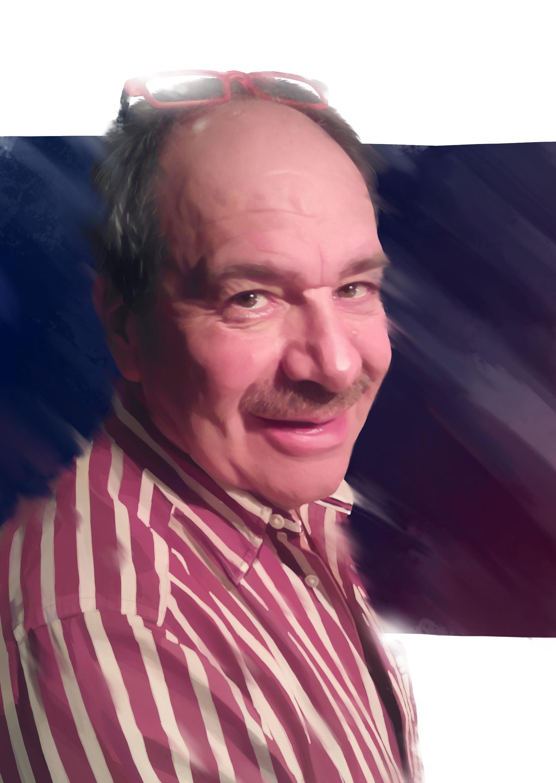 Stripes and Staches - Portrait