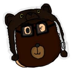 Bear hat (NOT KEN!)