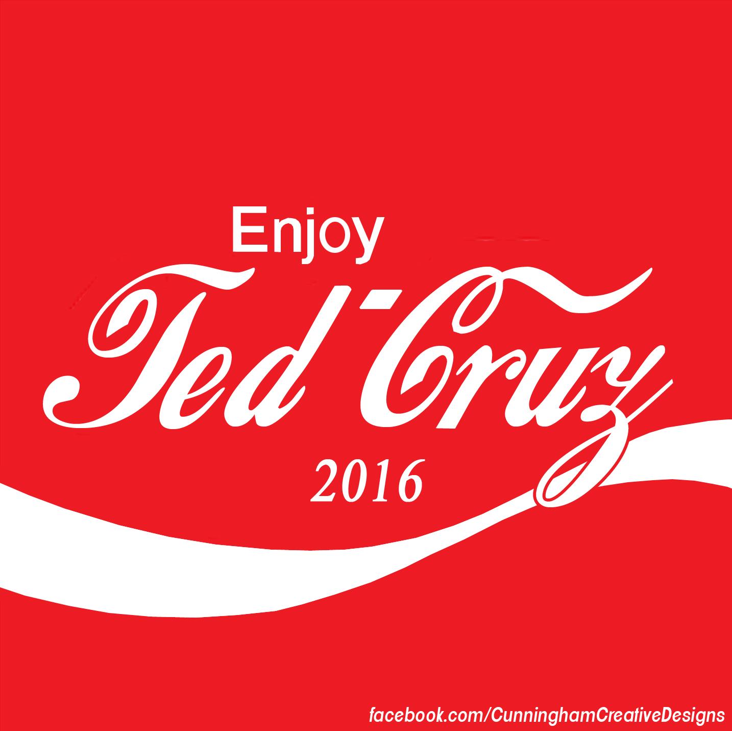 Presidential Soda Pop Series #1 Ted Cruz