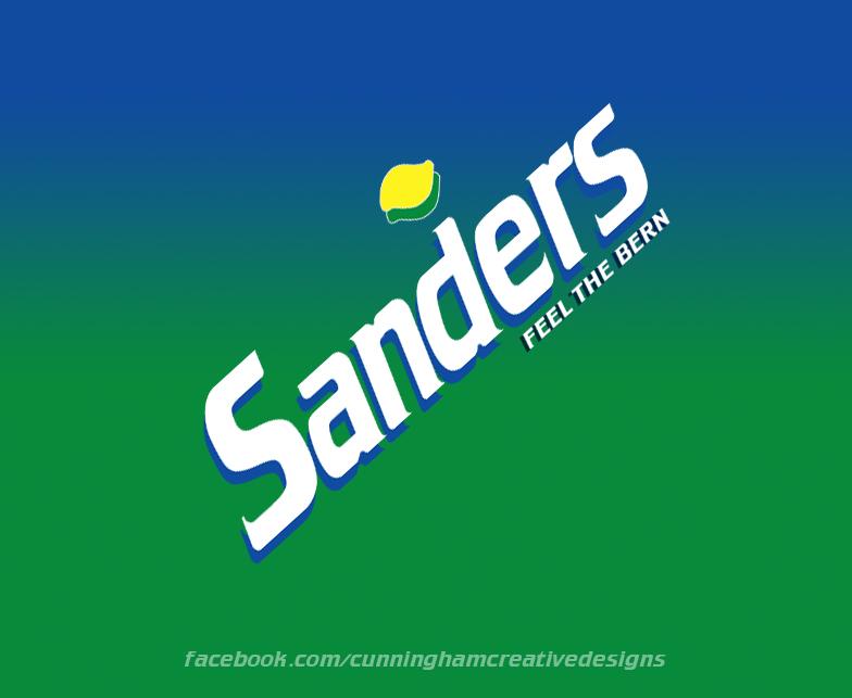 Presidential Soda Pop series #8 Bernie Sanders