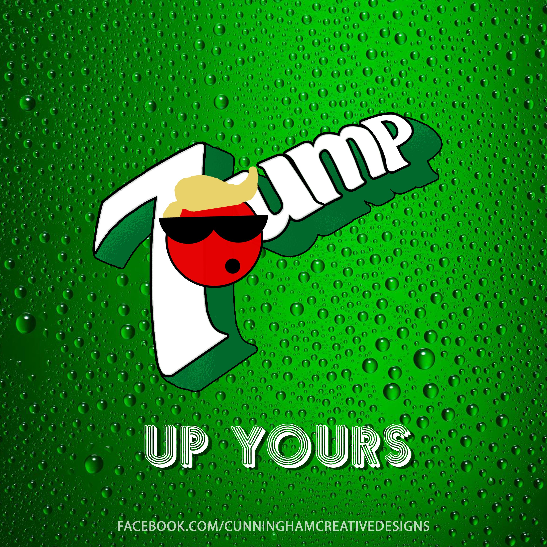 Presidential Soda Pop Series #9 Donald Trump