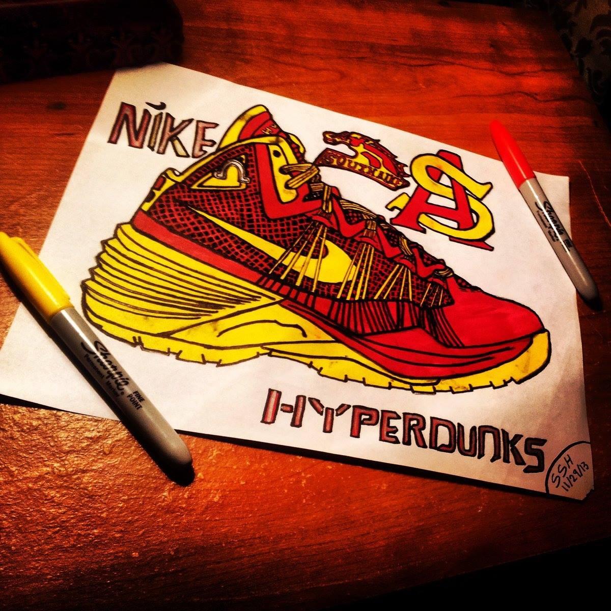 Custom hyperdunks
