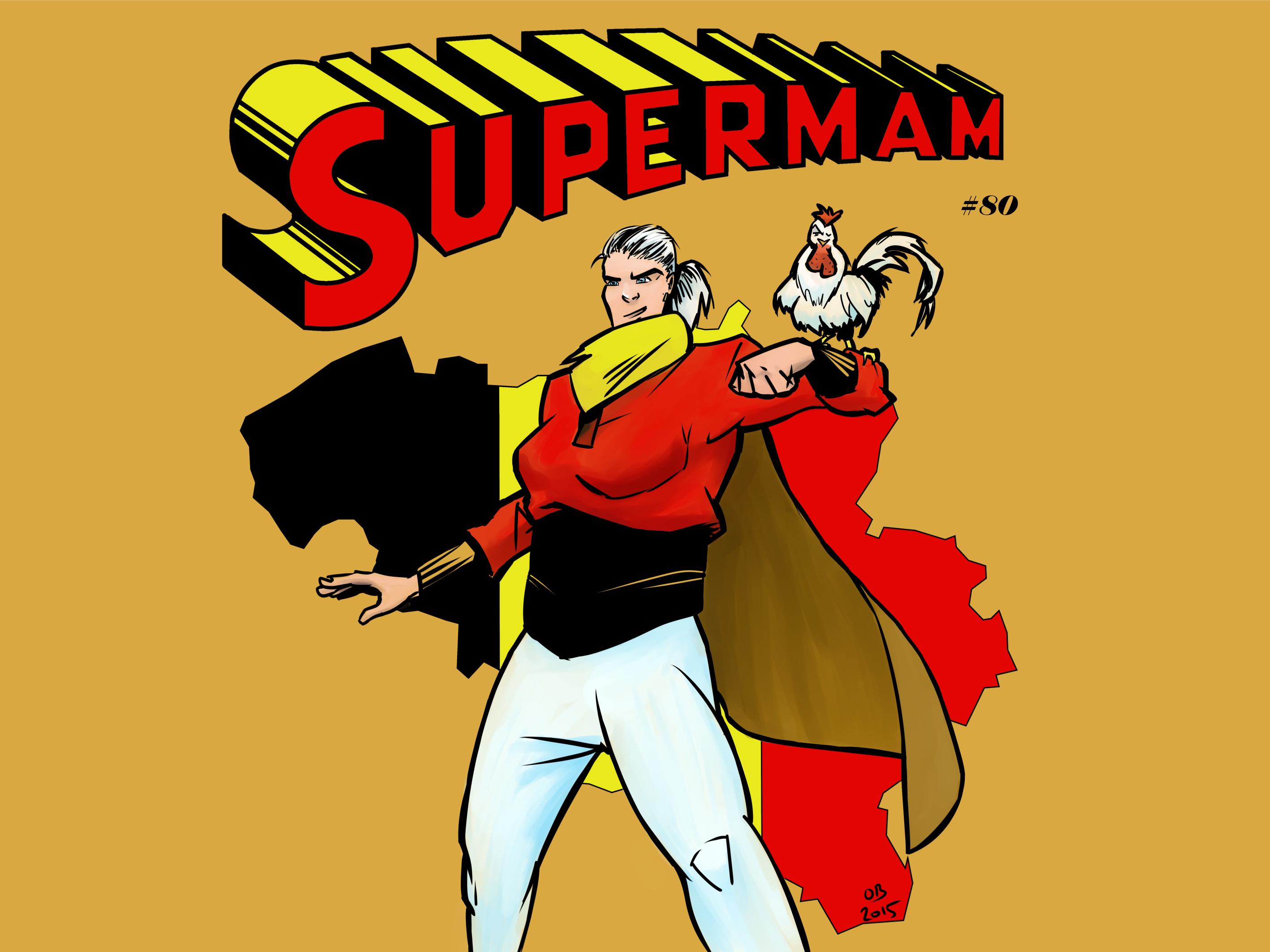 SUPERMAM!