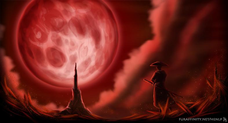 Illustration Friday 12 - Moon