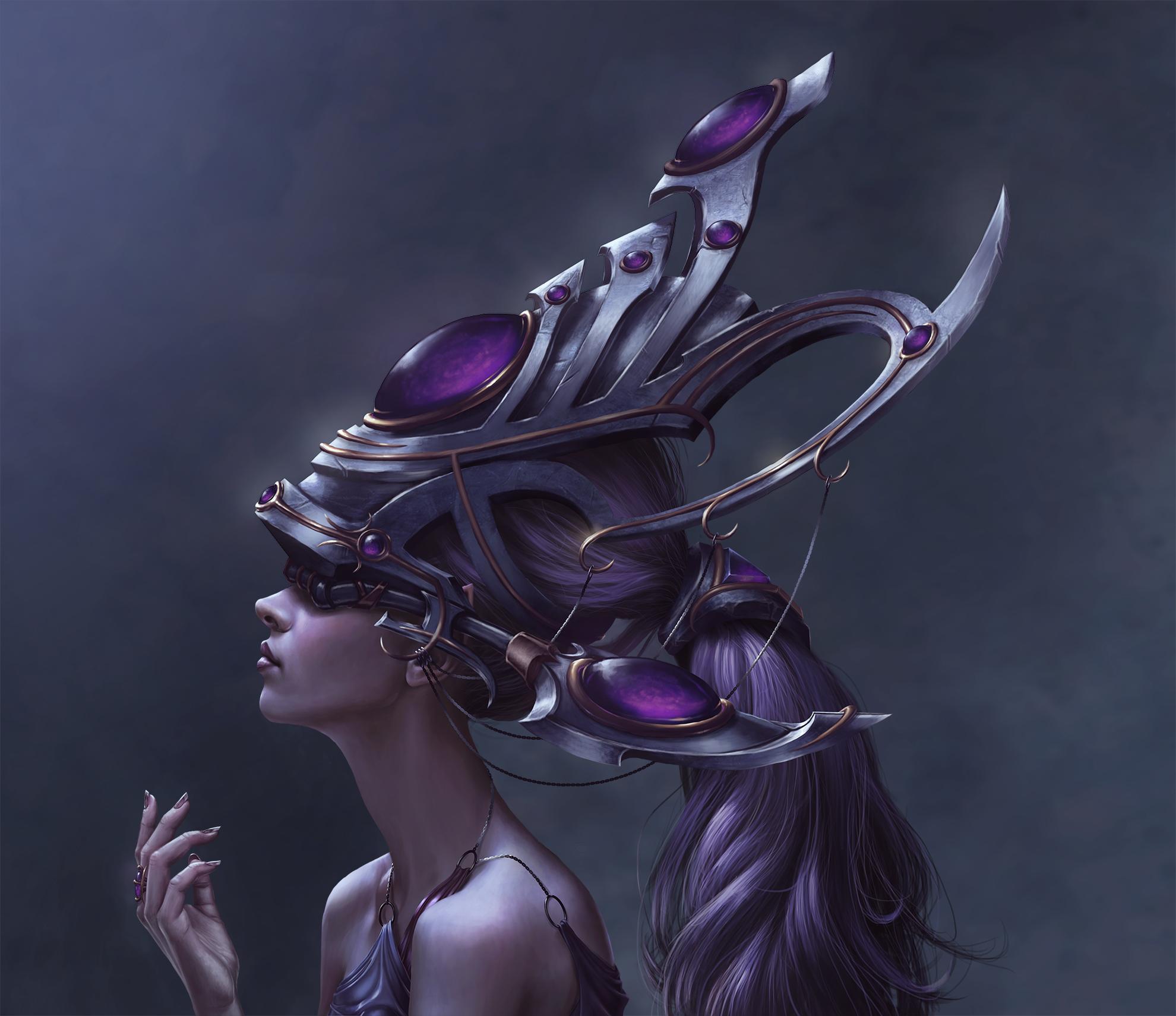 High Elf Star Priestess
