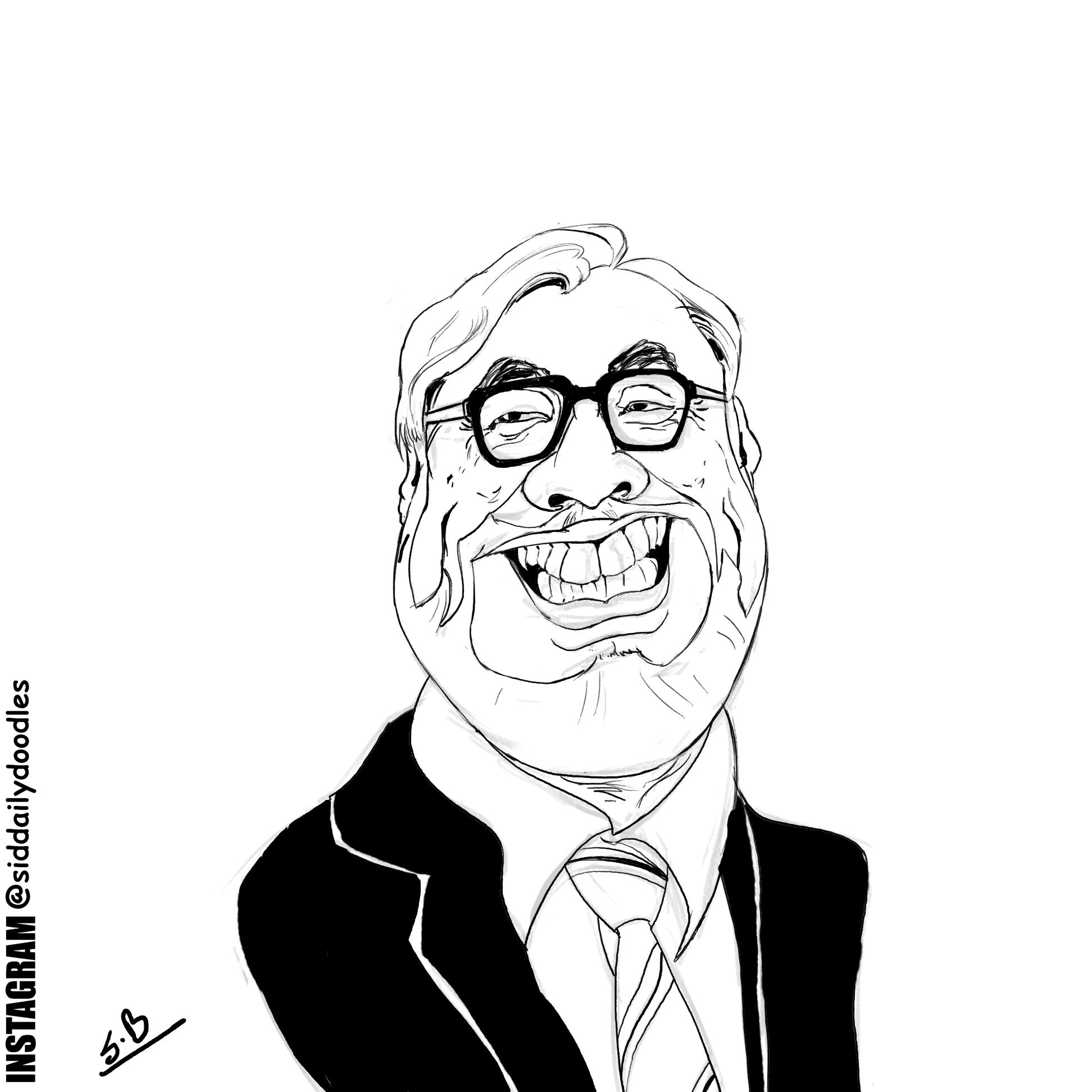 Hayao Miyazaki Caricature
