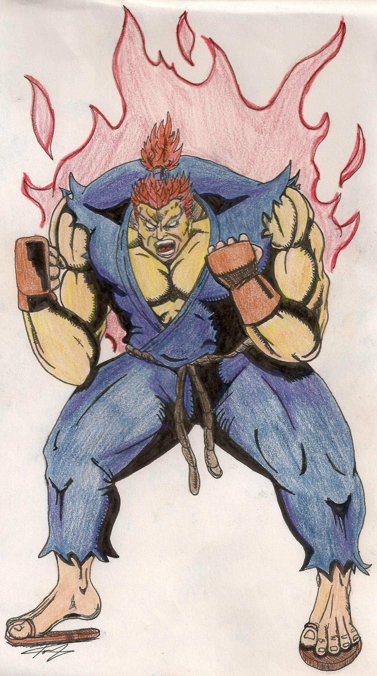 Street Fighter's Akuma