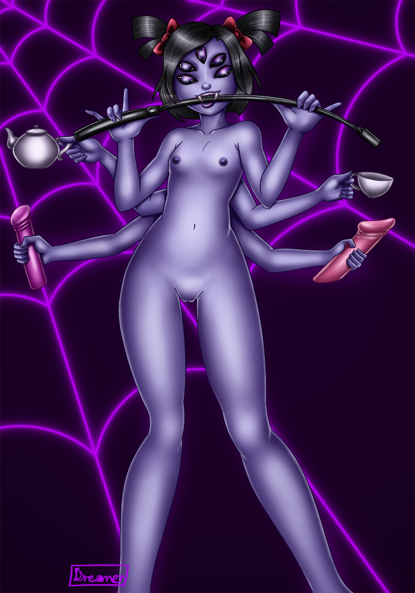 Muffet's Party: Nude