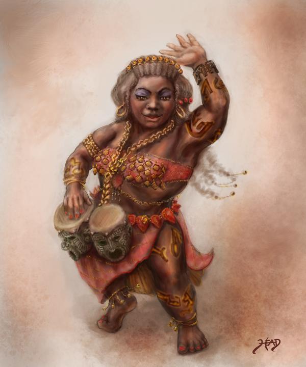 Dwarven Dancer