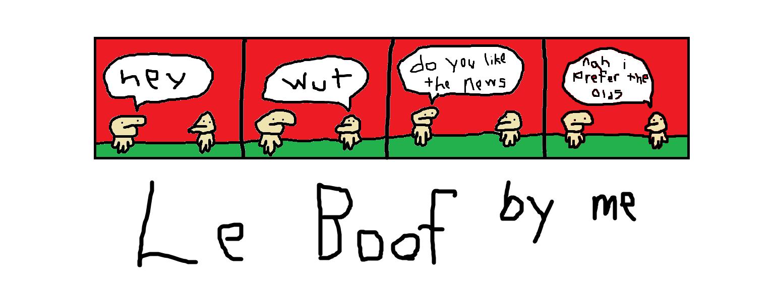 Le Boof: The News