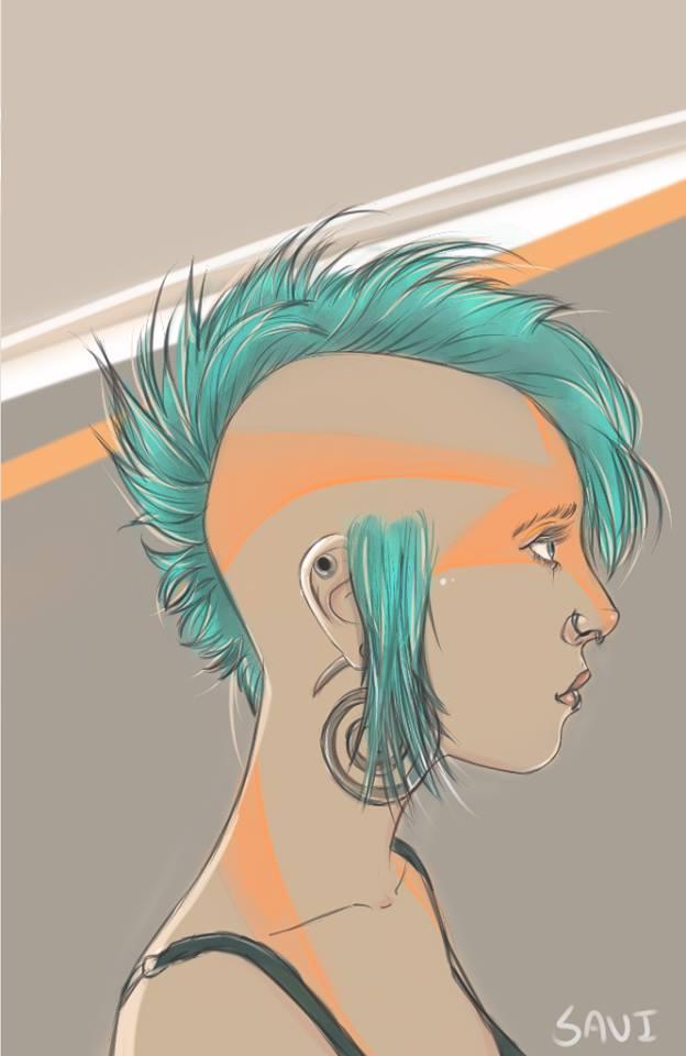 Avatarish Tank Girl