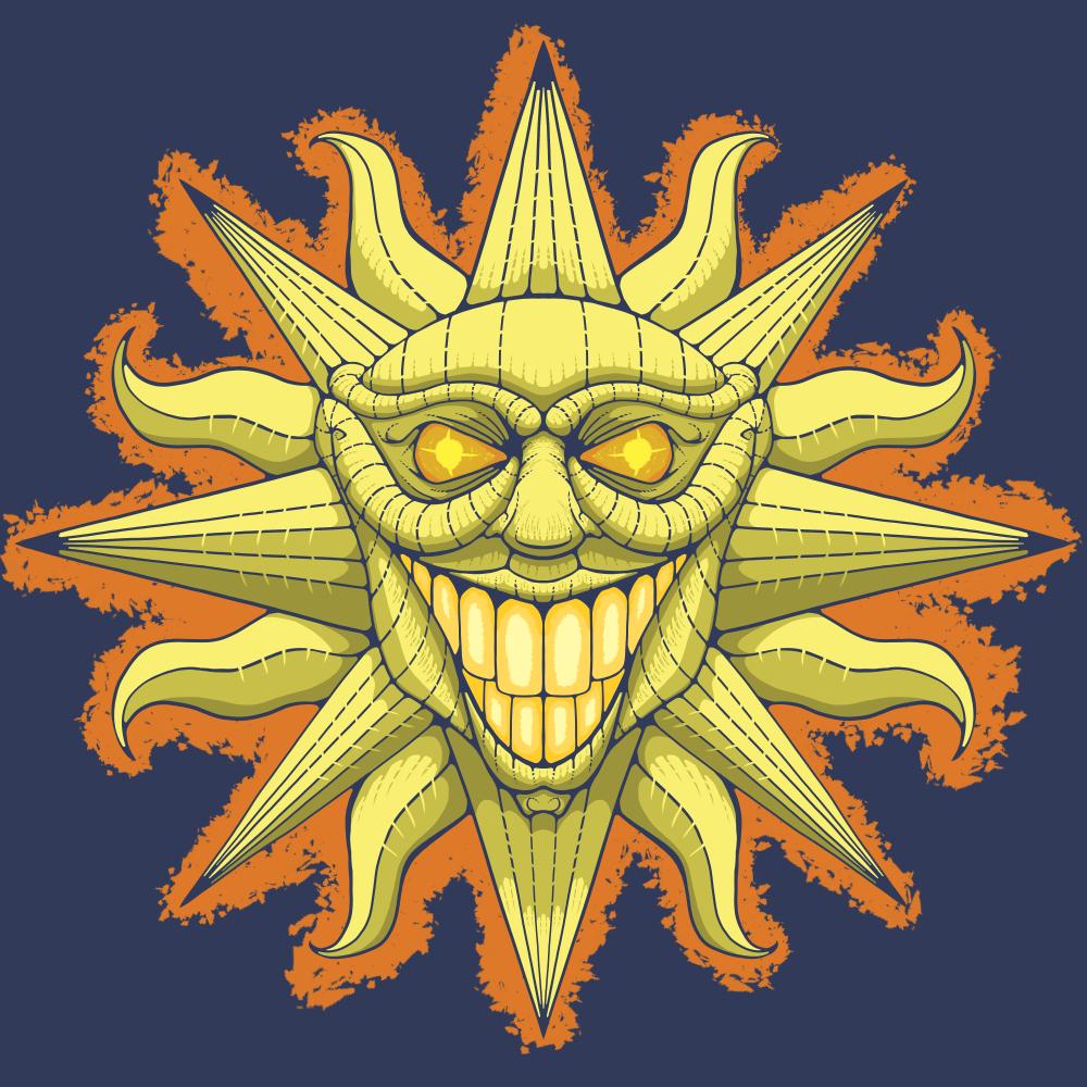 Evil Italian sun