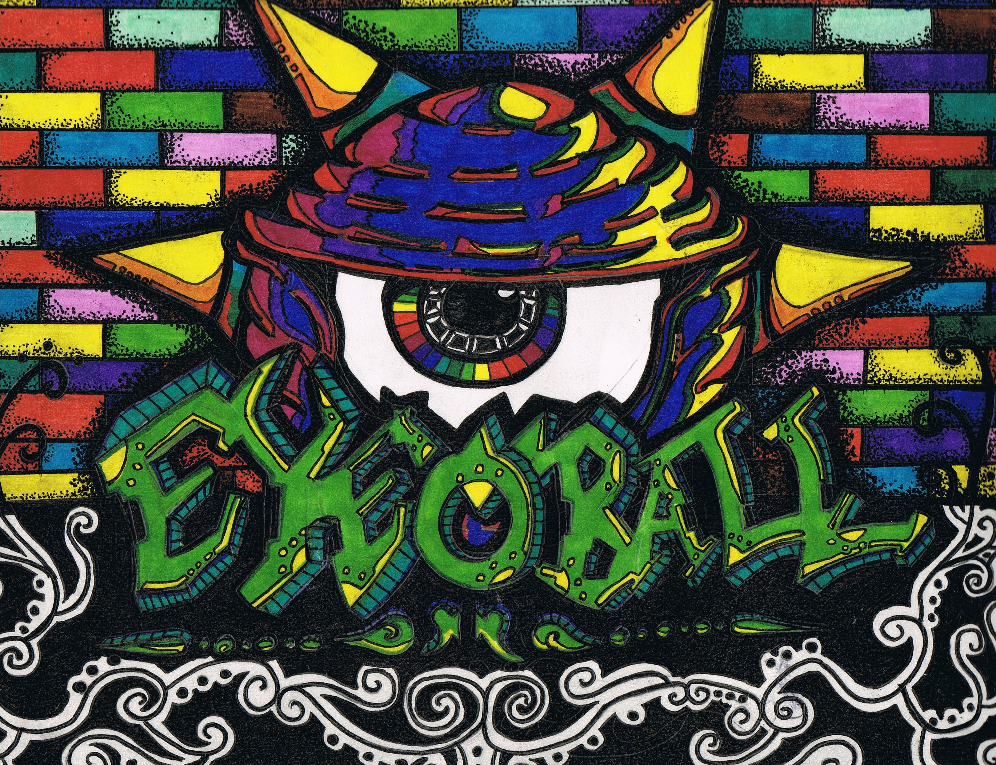 EyeBall Grafitti Logo