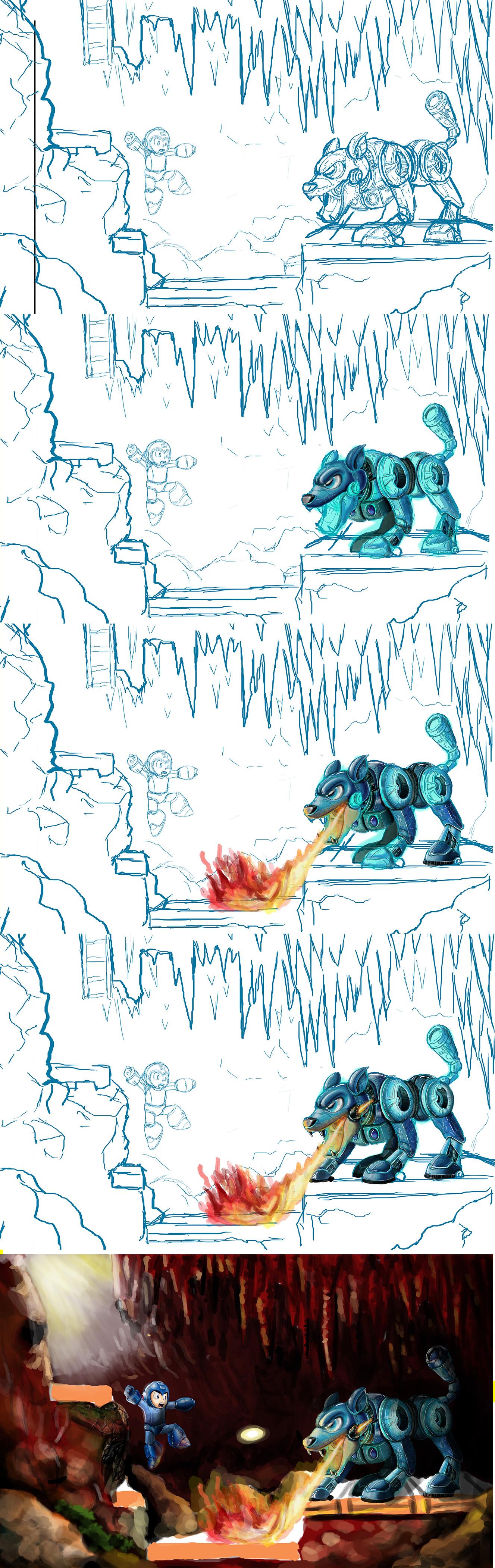 Megaman Progress