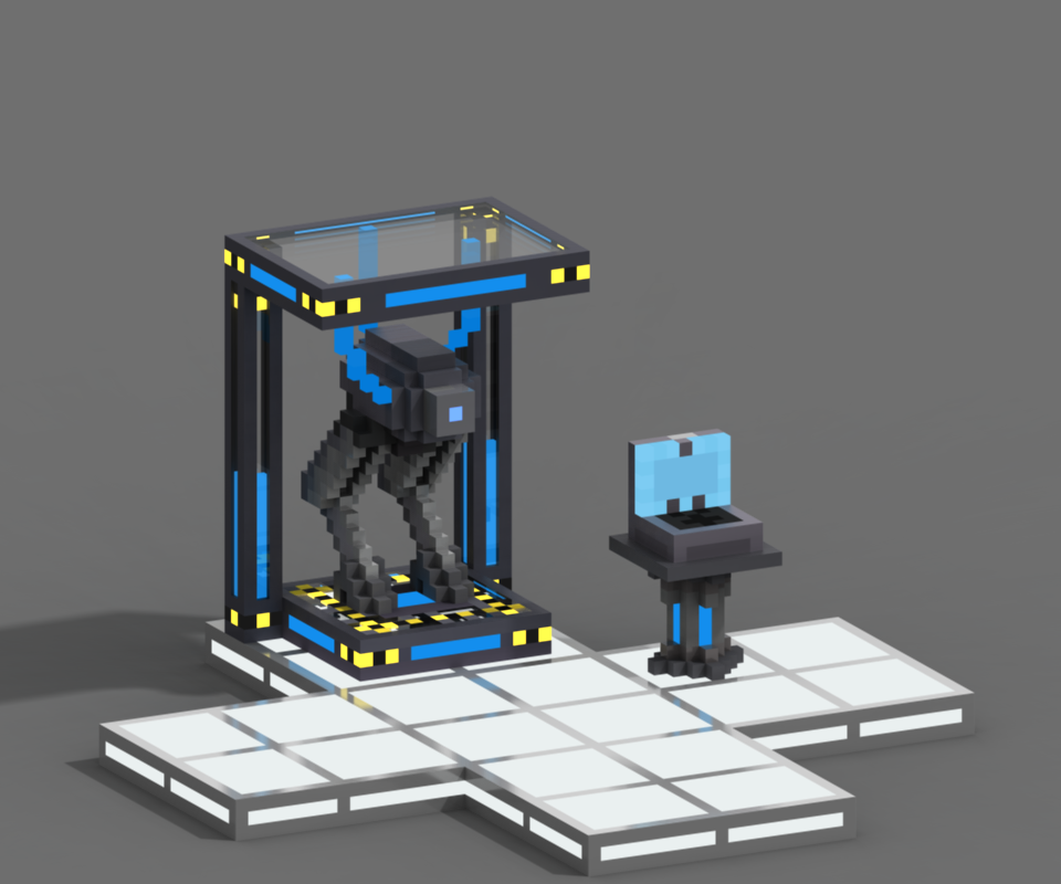 LiL Bot Charging Station (Effects)
