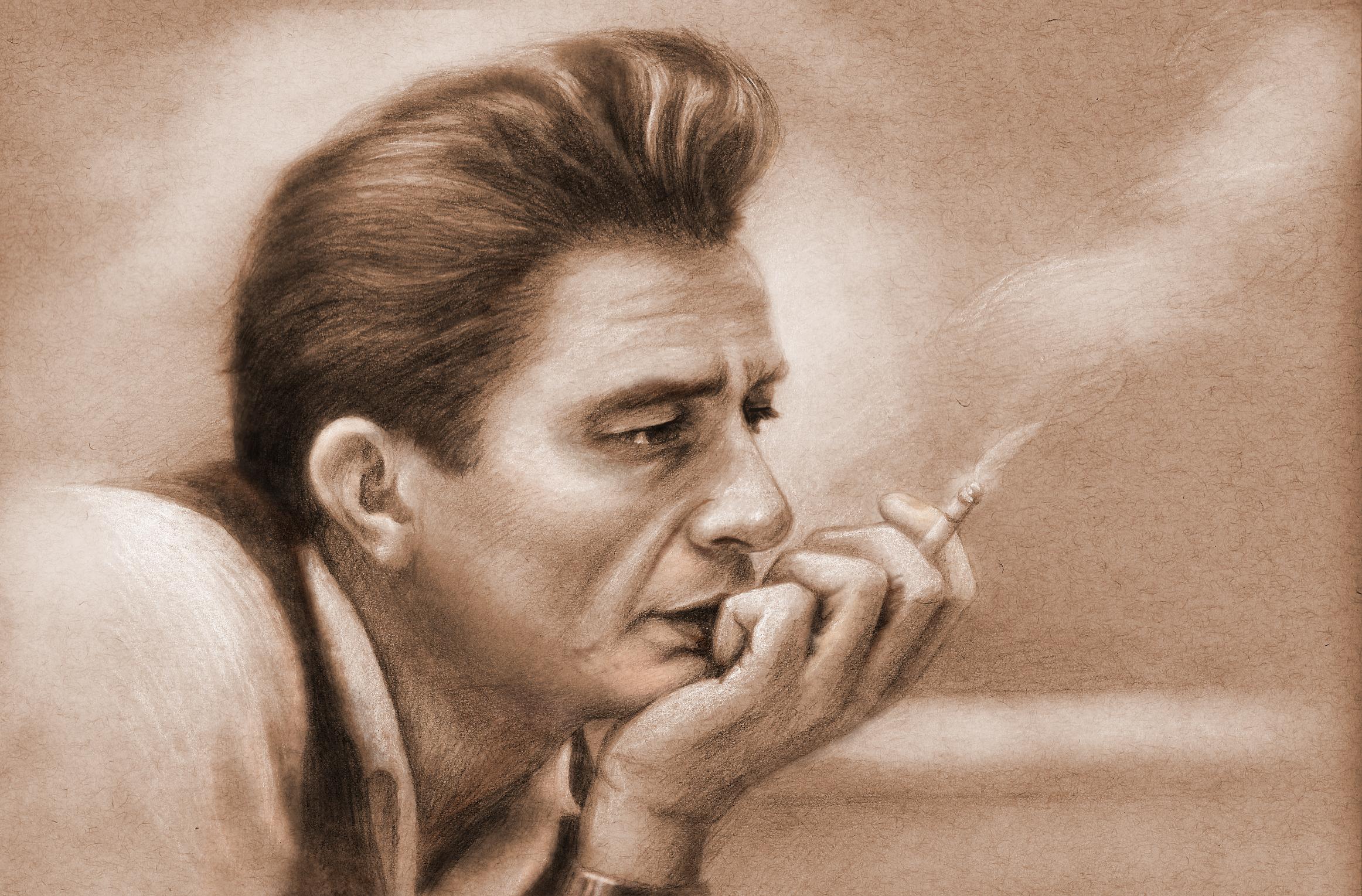 Johnny Cash Portrait