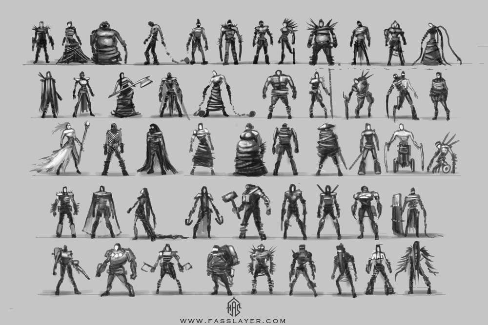 Postapocalyptic characters