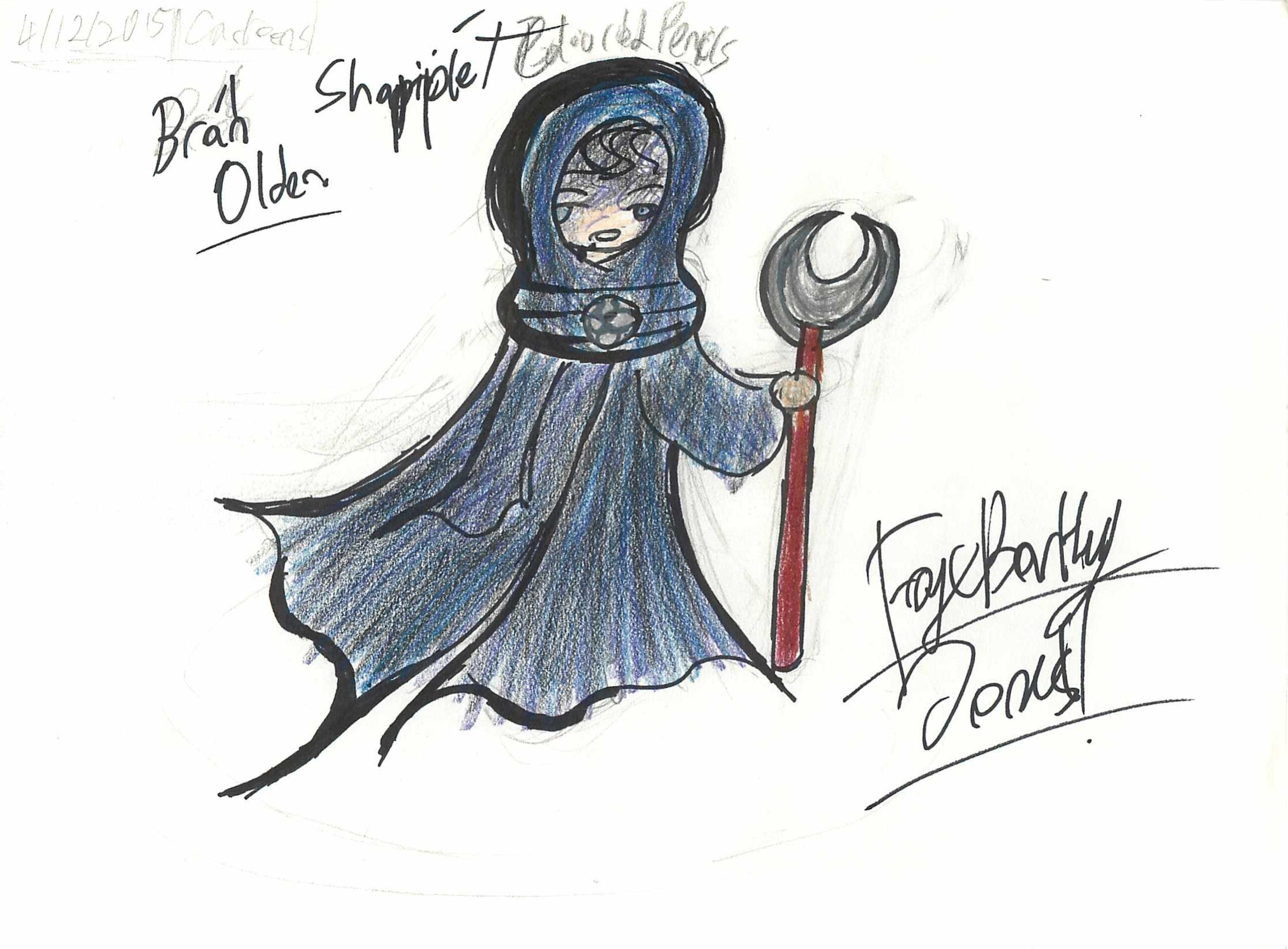 Concept Art of Character, Bran