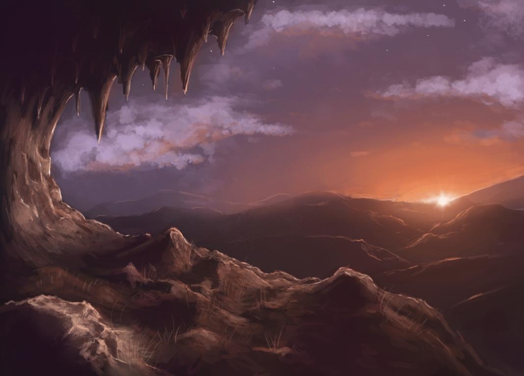 First digital landscape