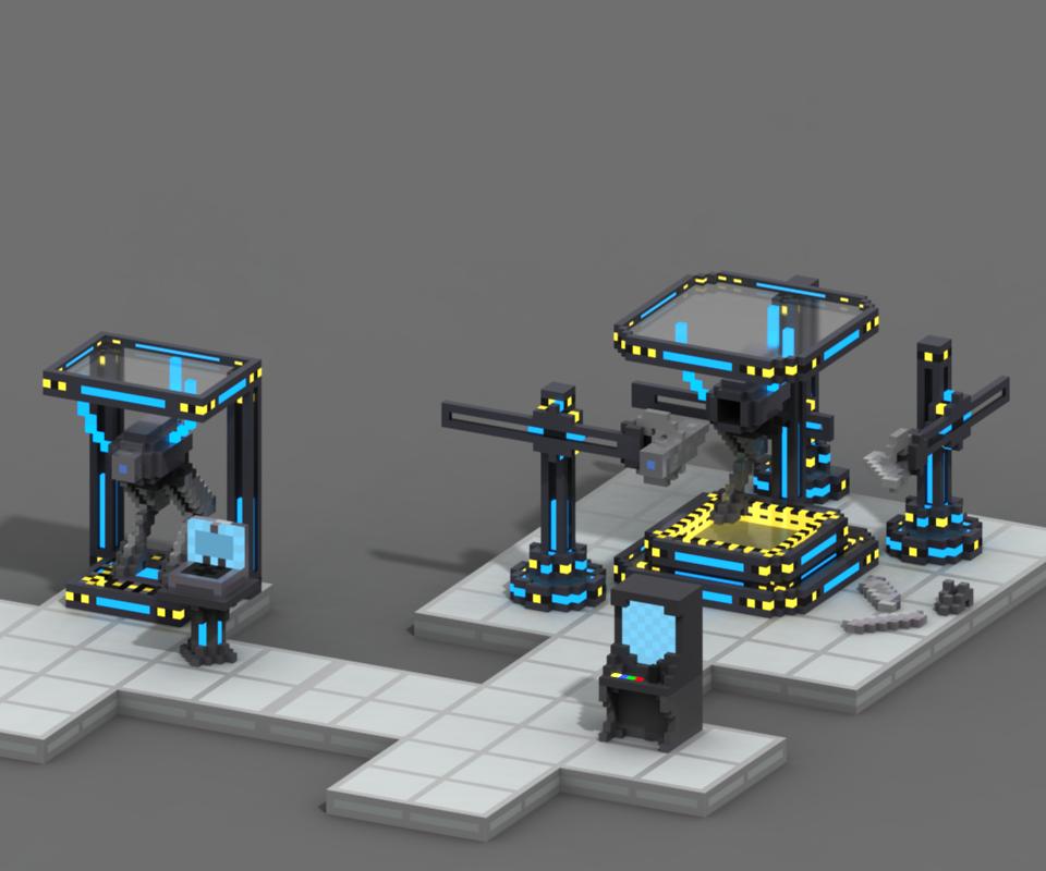 Robot Fabrication Station
