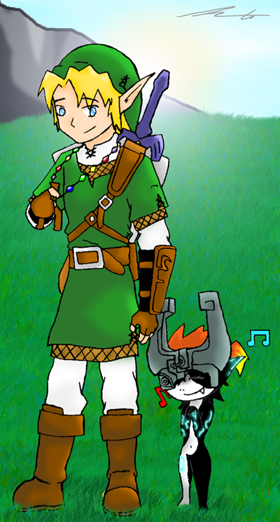 TLOZ - Link and Midna