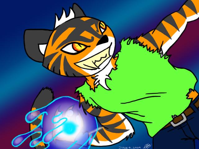 Tempestt Tiger of Water