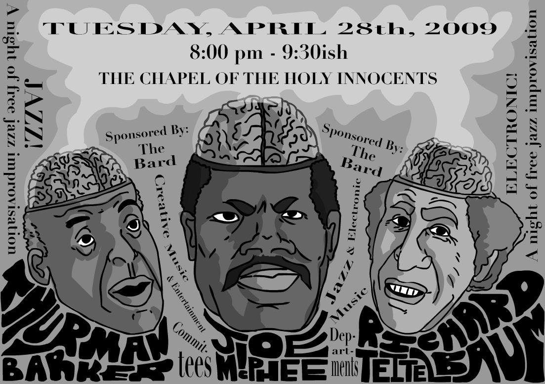 Joe McPhee Poster