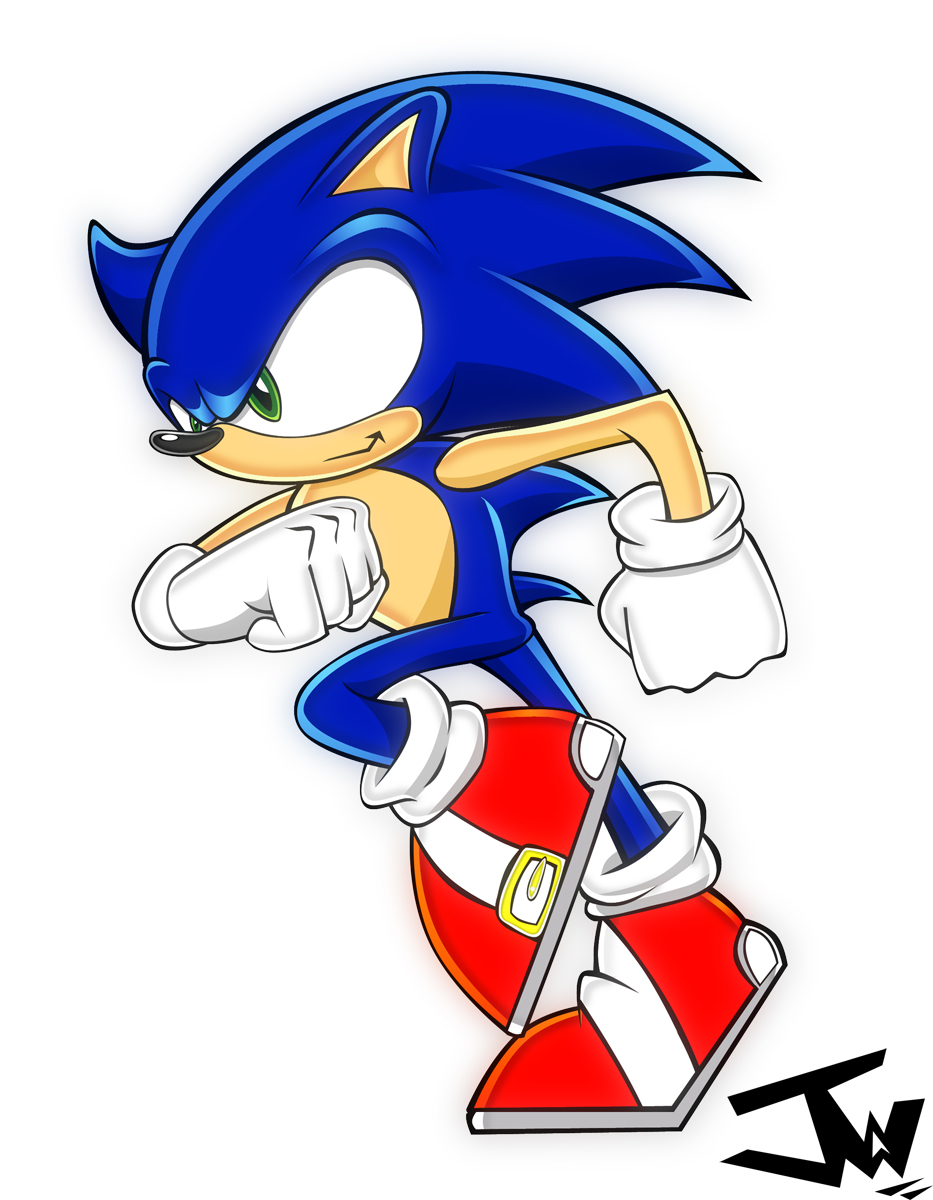 Sonic the Hedgehog by Johnny