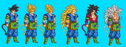 DBAF Mugen Project: Goku AF
