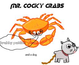 mr cocky crabs