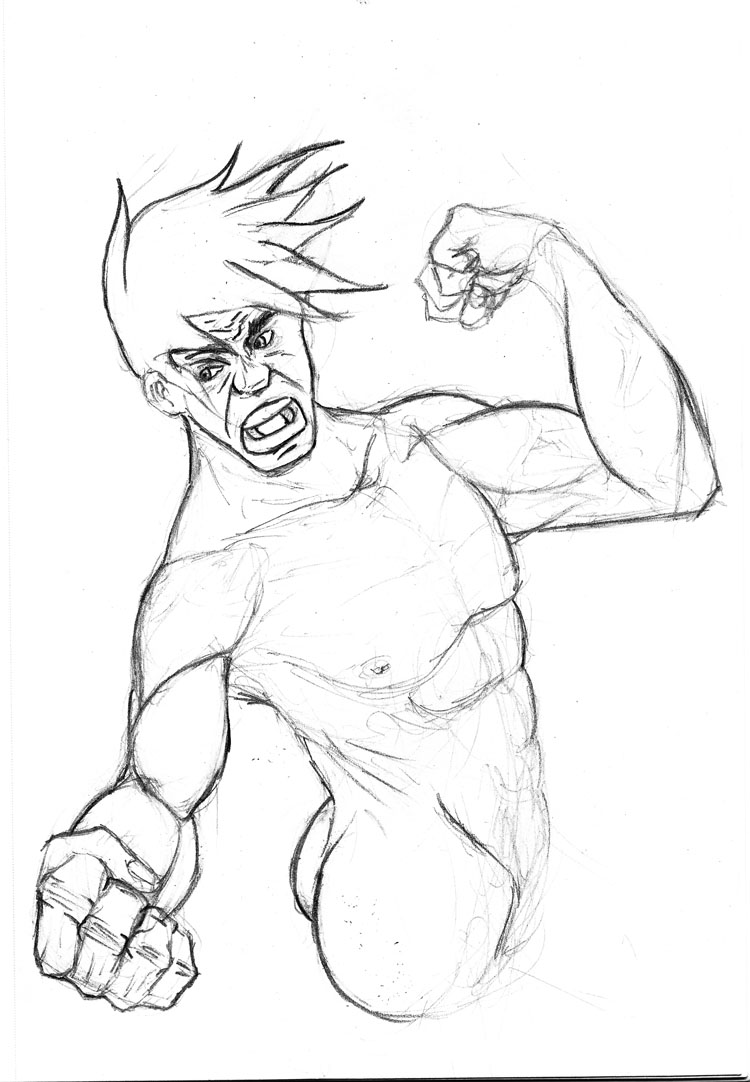 Rage Punch Rough