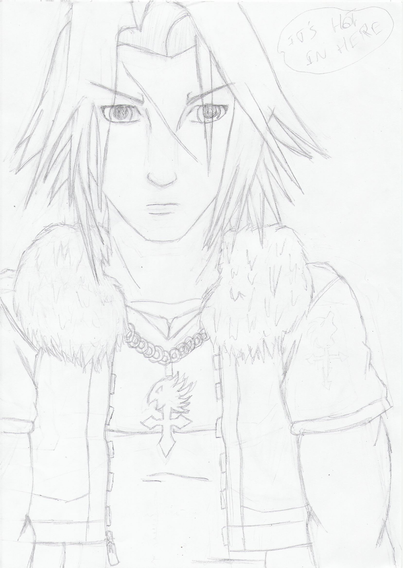 squall leonheart (KH2 version)