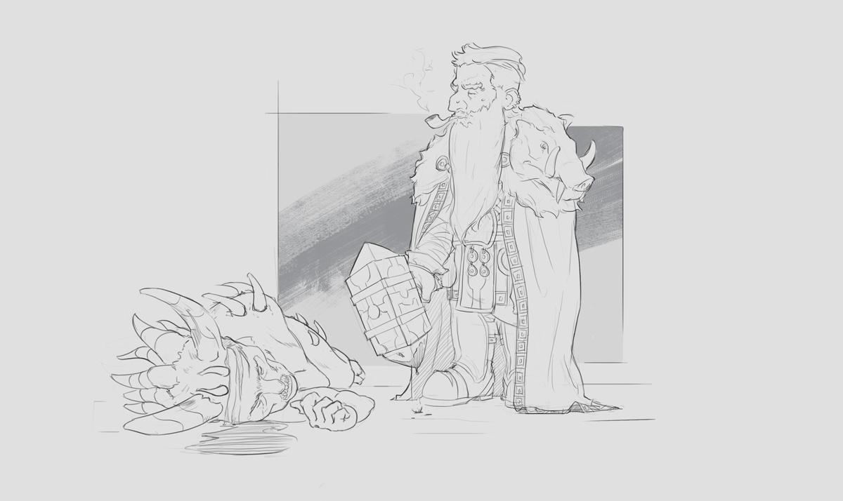 Late night sketch challenge_02