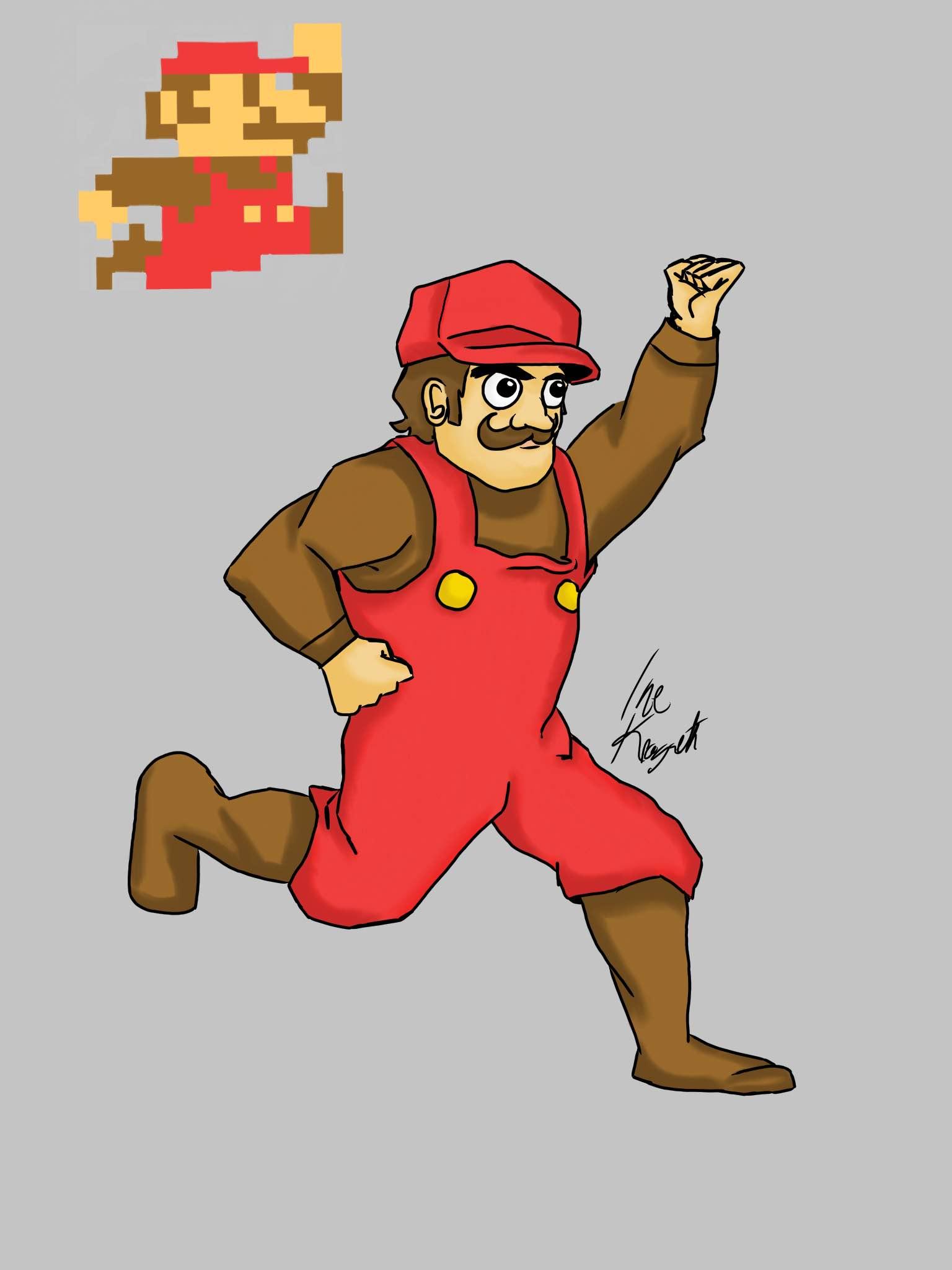Super Mario Bros 8bit