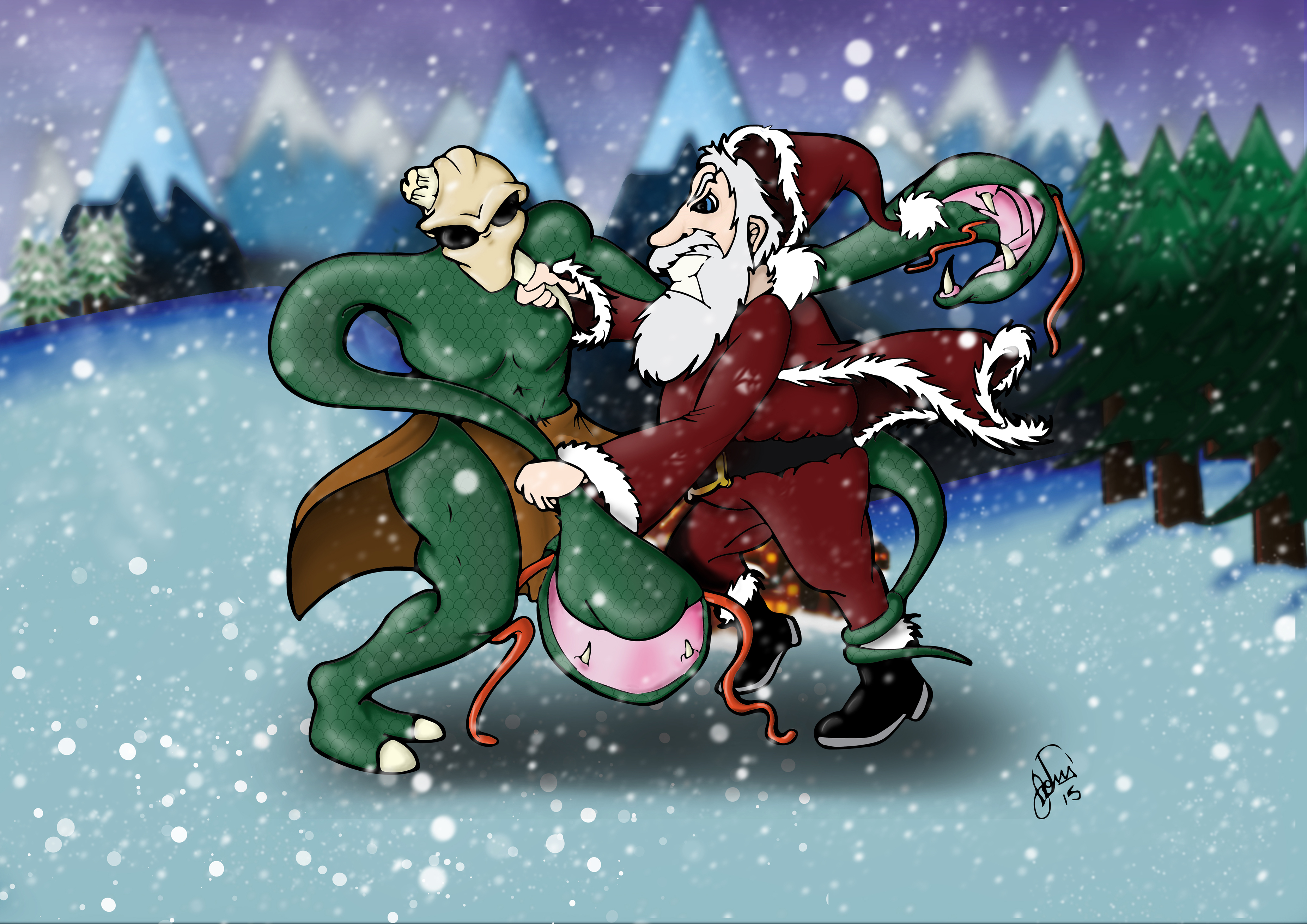 Epic Santa Alternative Version 2