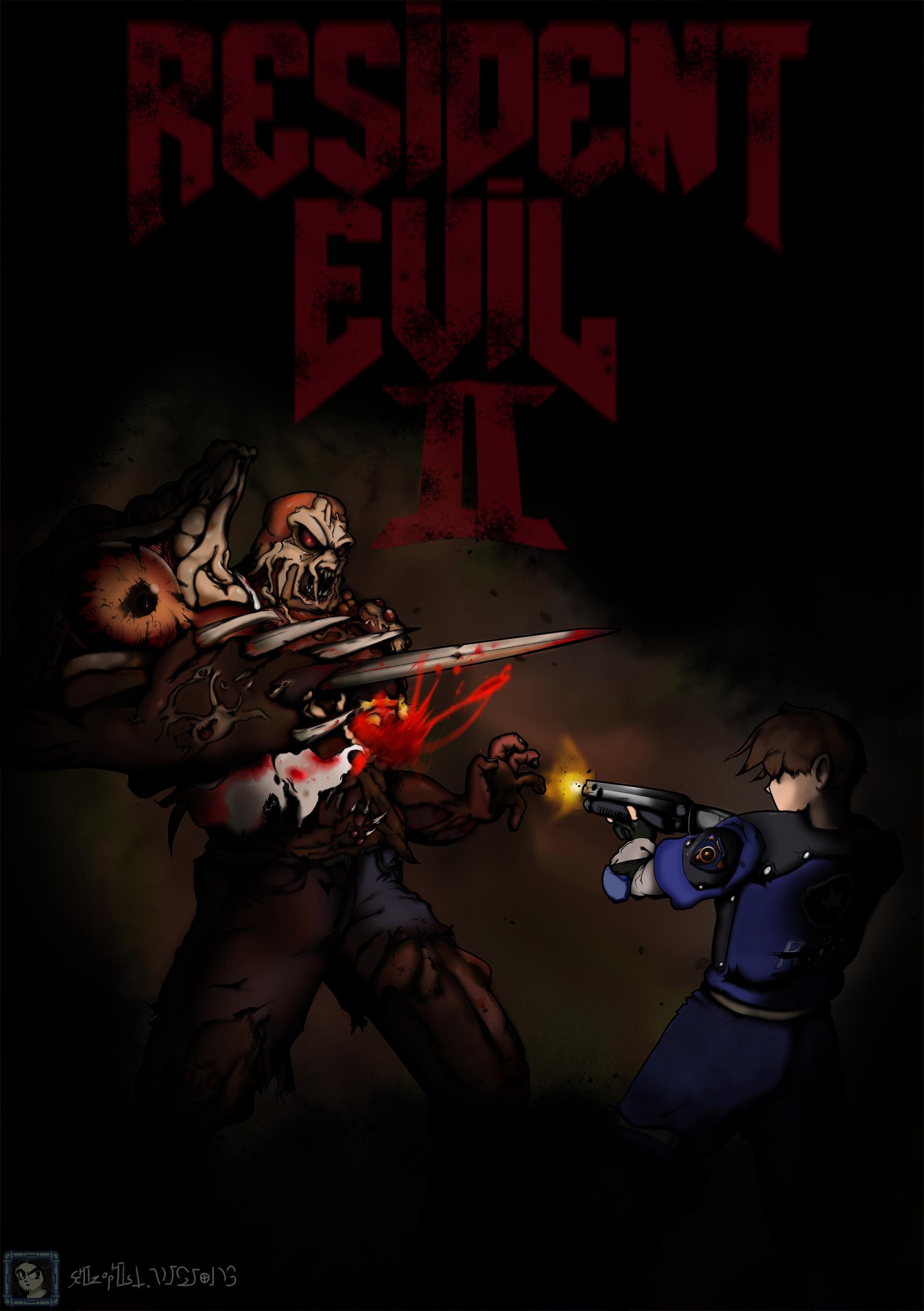 Leon's got the Shotgun (re-uploaded)