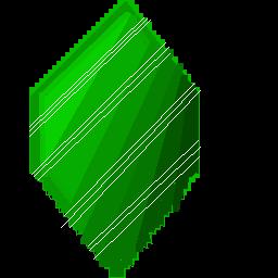 Emerald Pixel Art