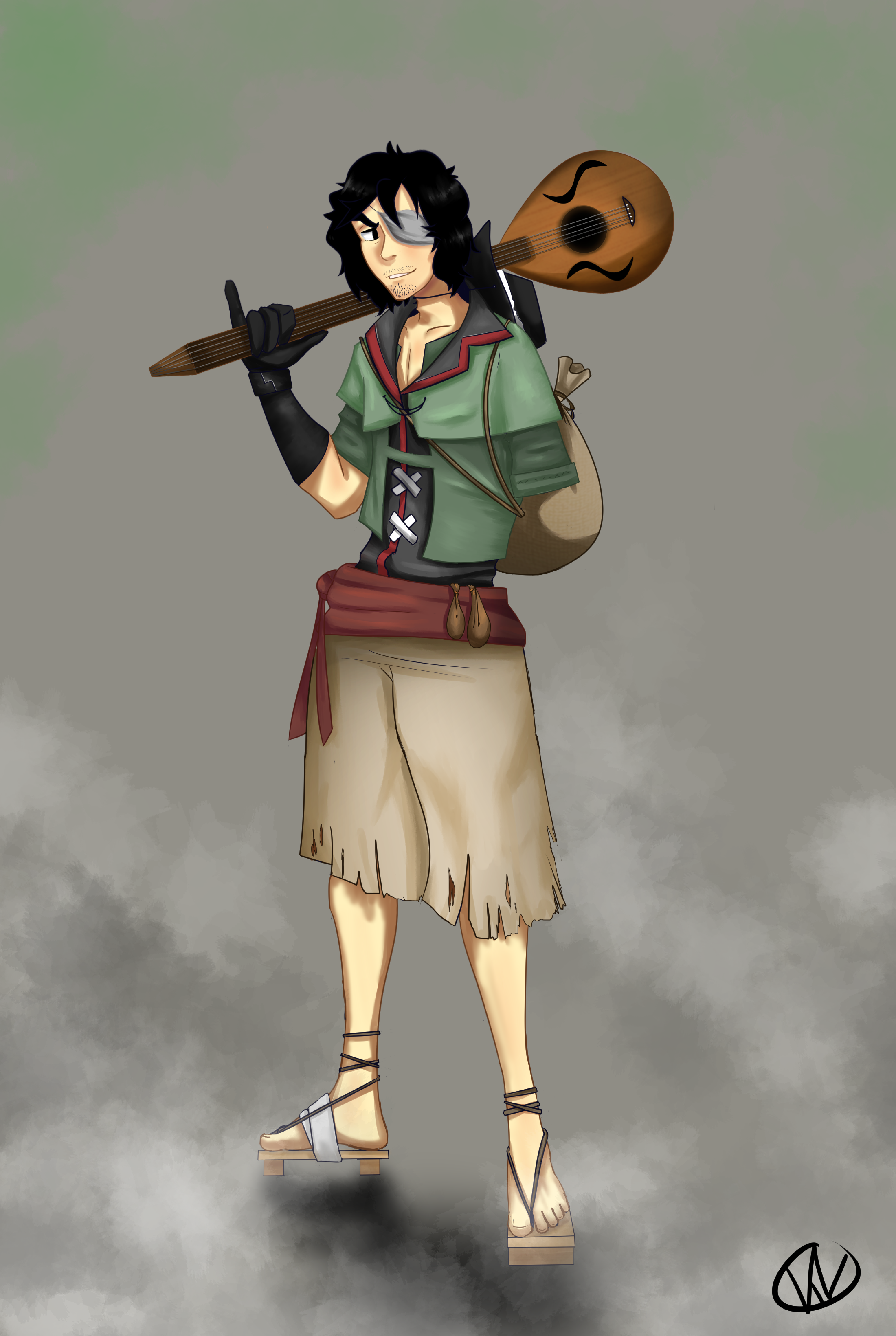 The One Armed Bard