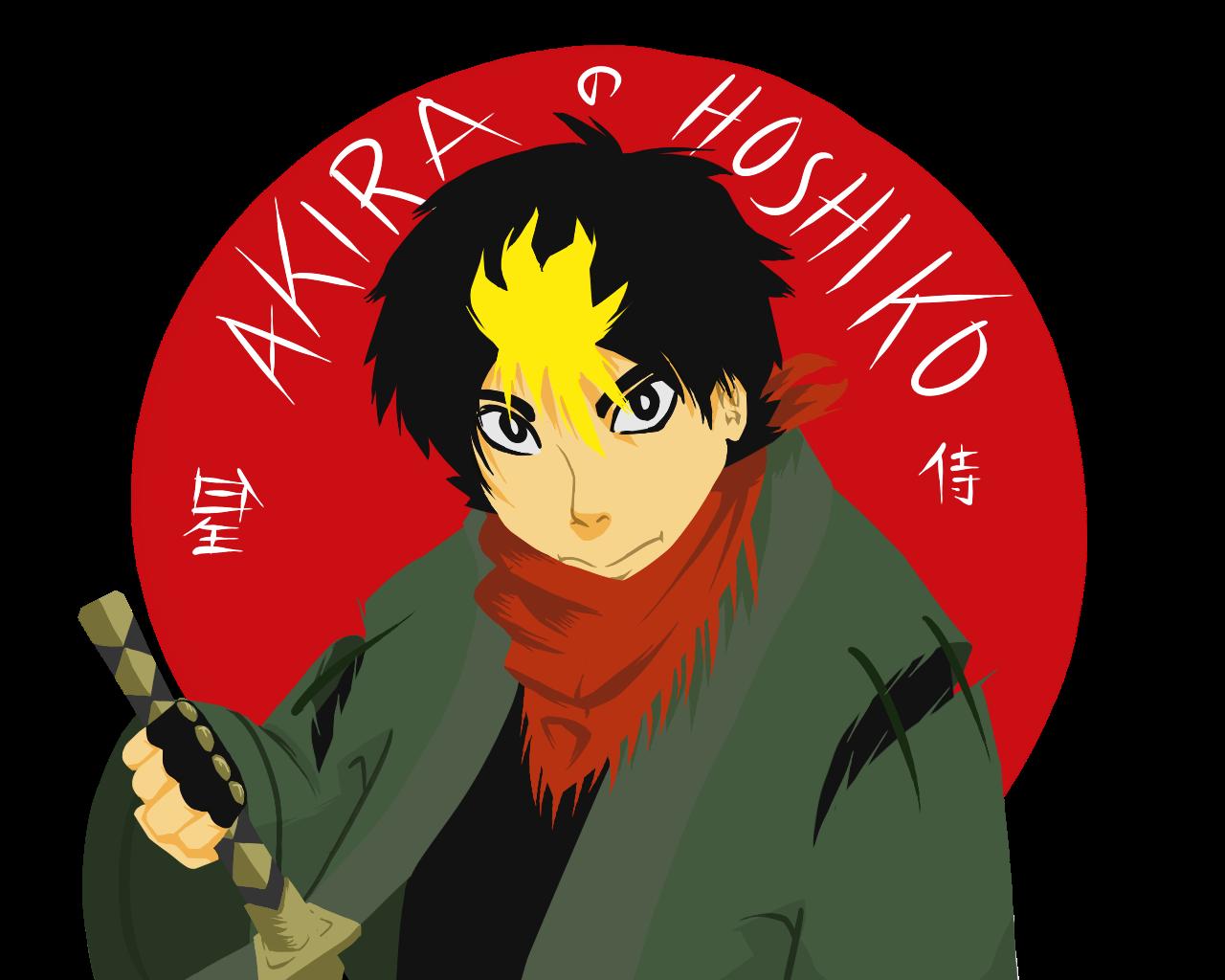 Akira Hoshiko, the Star Samurai