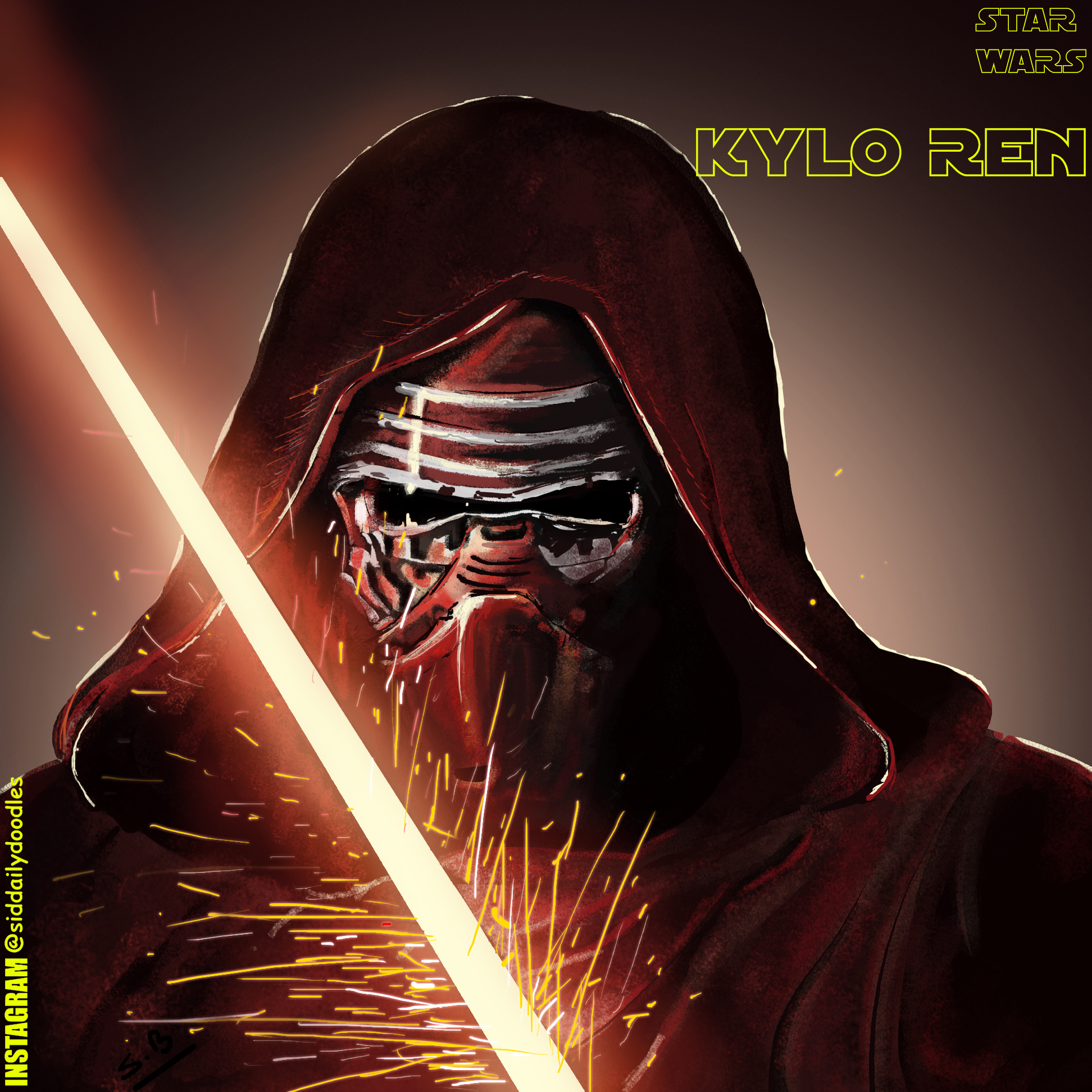 Kylo Ren Fan Art