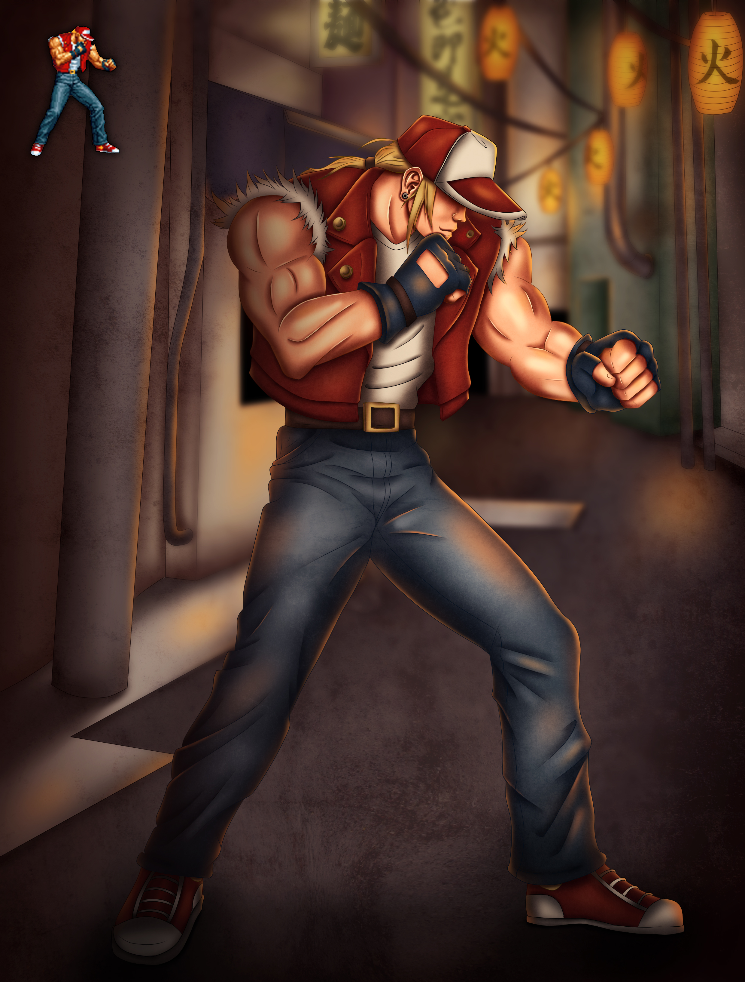 Terry Bogard Remake (The King Of Fighters '96)