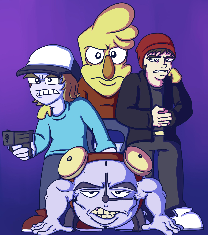 Pixel Men