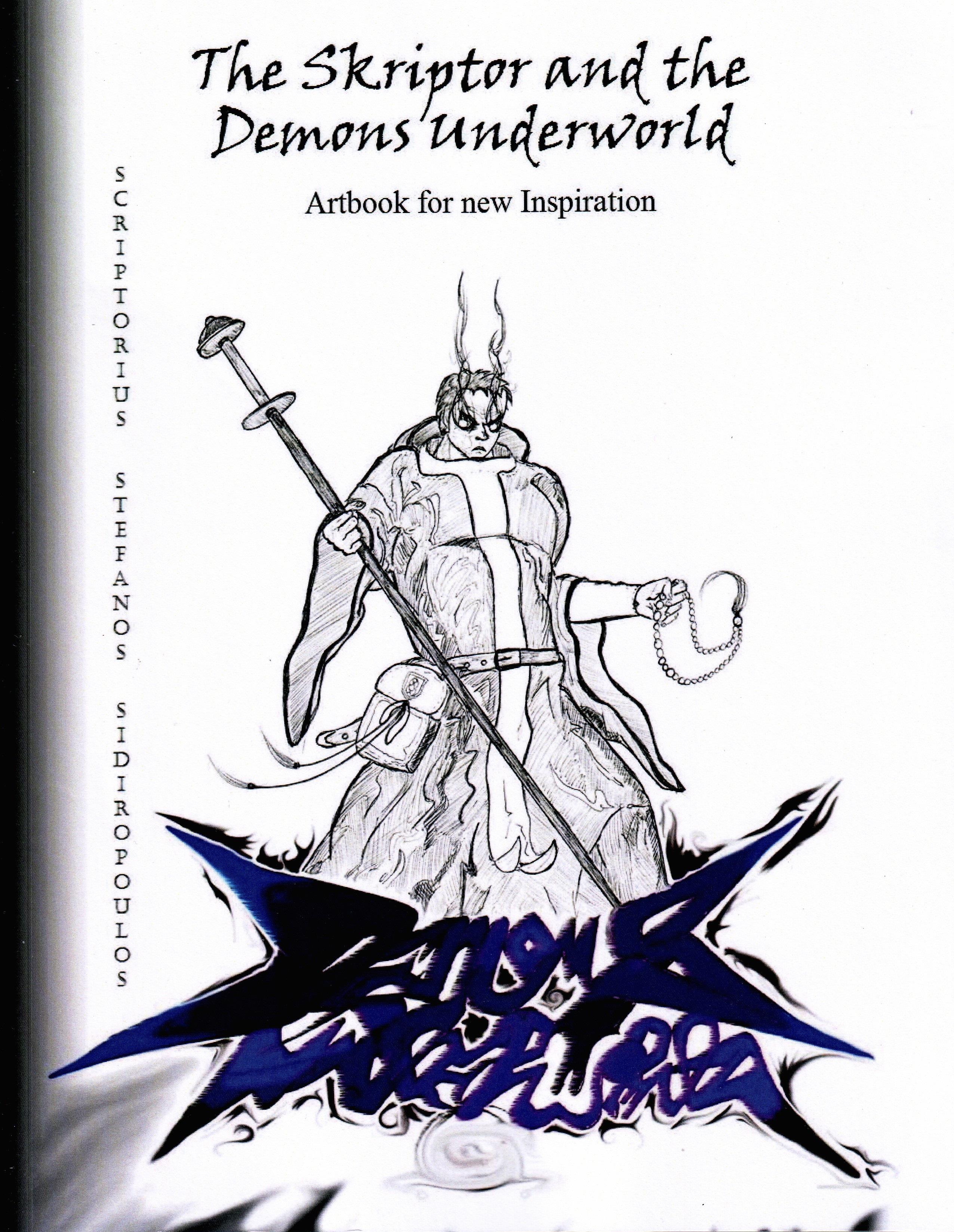 Artbook No.1: The Skriptor and the Demons Underworld