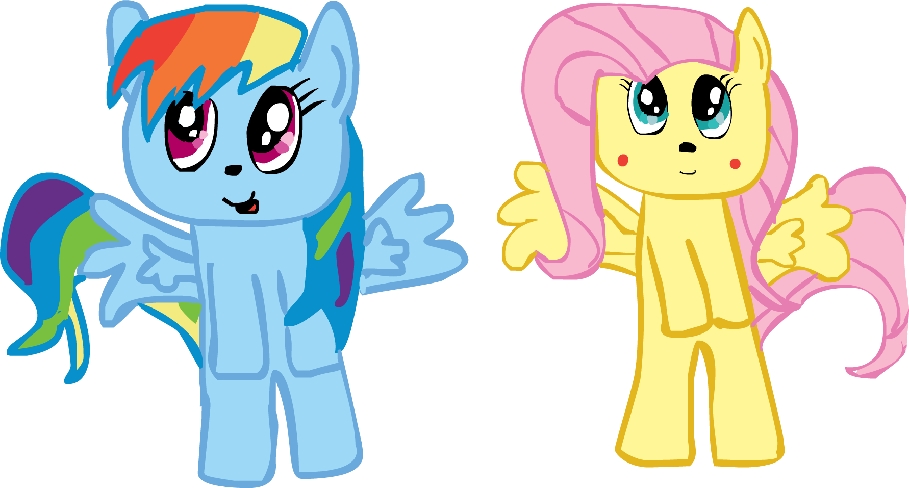 chibi dash and shy