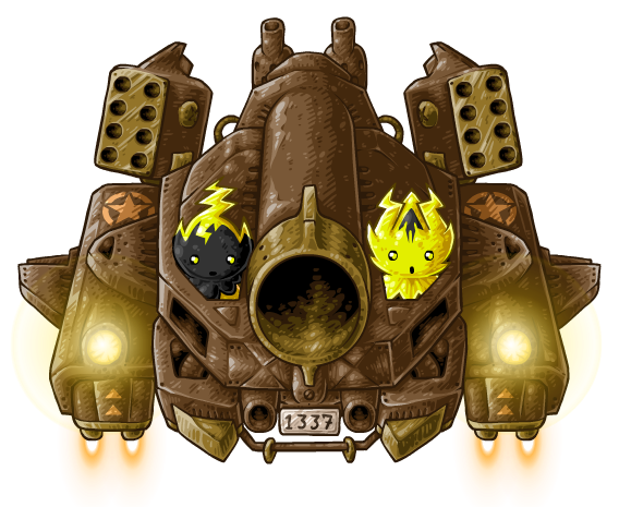 Bombarding Behemoth